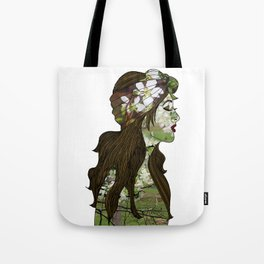 April in the Apple Blossoms Tote Bag