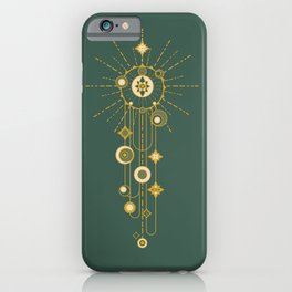 Writing on the sky iPhone Case