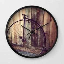 Pieces of the Past Wall Clock