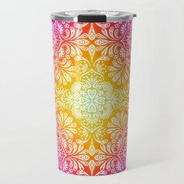 Pastel Boho Mandala Travel Mug