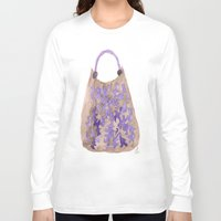 tote bag Long Sleeve T-shirts featuring Tote 1 by ©valourine