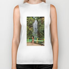 Tropical Pleasures Biker Tank