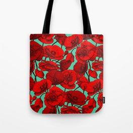 Poppies I Tote Bag