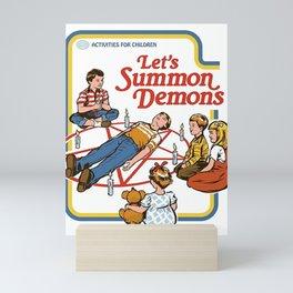 Let's Summon Demons Mini Art Print