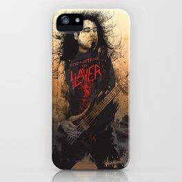 Tom Araya iPhone Case