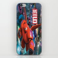 big hero 6 iPhone & iPod Skins featuring Big Hero 6  by store2u