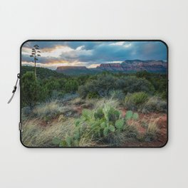 Southwest Serenade - Sunset at Sedona Arizona Laptop Sleeve