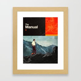The Manual Framed Art Print