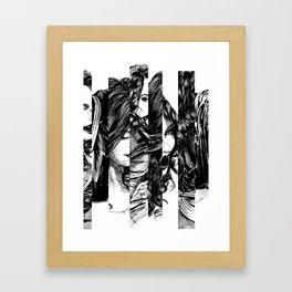 Looking Glass. Yury Fadeev. Framed Art Print