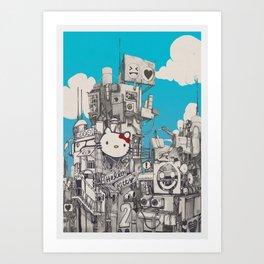 Phuture World Art Print