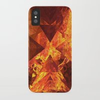 lotr iPhone & iPod Cases featuring Into Mount Doom by Lyle Hatch
