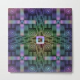 Resolve - Rainbow Variant Metal Print