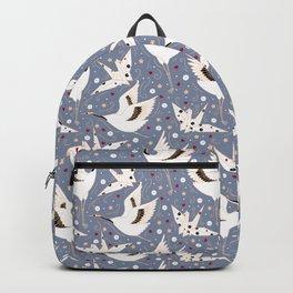 Origami Crane Metamorphosis (Blue) Backpack