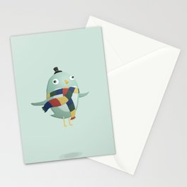 Monster Birdlady Stationery Cards