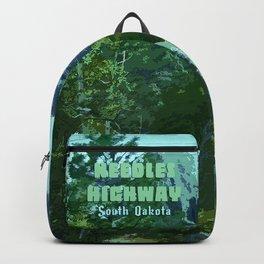 Enchanted Needles Highway Retro Travel Backpack