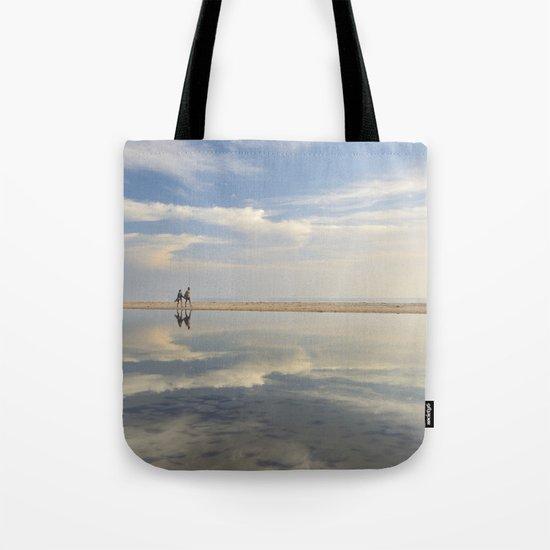 """Heaven walk"". Sea sunset Tote Bag"