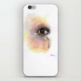 Watercolour Eye Painting  iPhone Skin