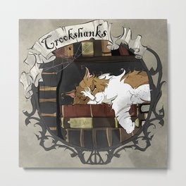 Crookshanks Metal Print