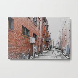 View from the Alley - Savannah 1 Metal Print