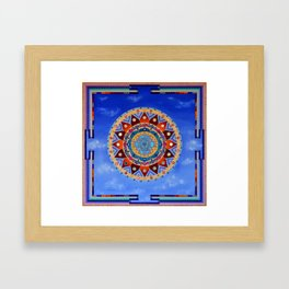 Sri Yantra Framed Art Print
