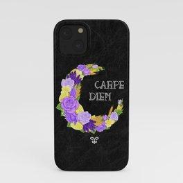 Crescent Bloom | Lavender and lemons  iPhone Case