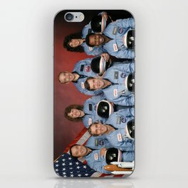 Space Shuttle Challenger Crew, November 1985 iPhone Skin