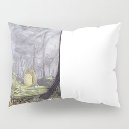 Totoro's Forest Pillow Sham