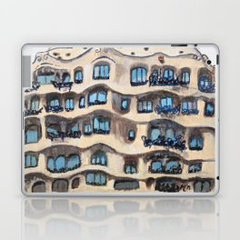 Barcelona, La Pedrera, building by Gaudi Laptop & iPad Skin