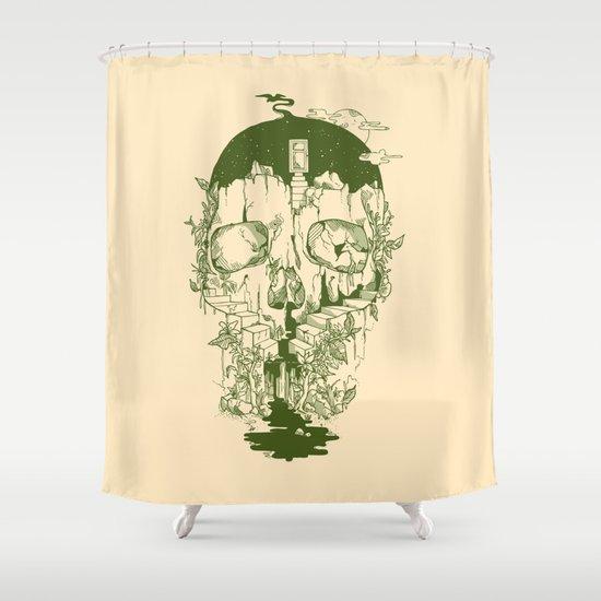 Inside My Head Shower Curtain