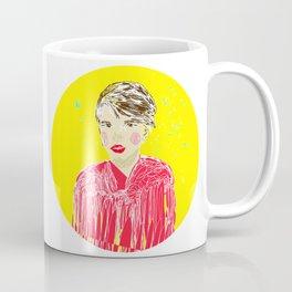 Girl in red Coffee Mug