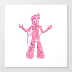 Bubble Gumby Canvas Print