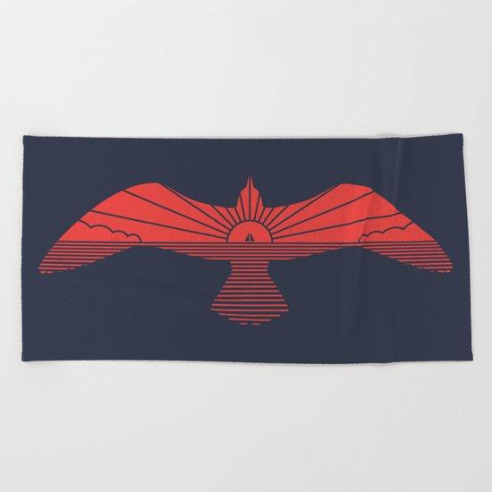 Larus Marinus Beach Towel