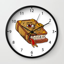 monster book. Wall Clock