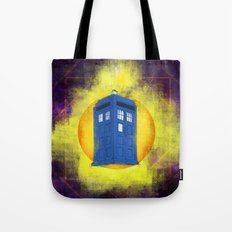 The TARDIS Tote Bag