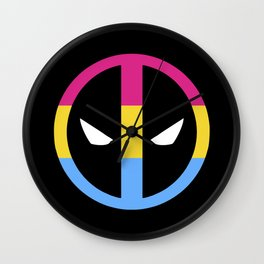 Deadpan Wall Clock