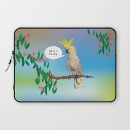 Hello Cocky Laptop Sleeve