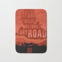 MAD MAX - Minimalist Serie Quote Bath Mat
