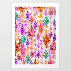 Bali Ikat  Art Print