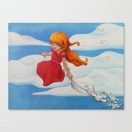 Yesterday Canvas Print