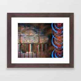 Making Music [In Anaglyph 3D] Framed Art Print