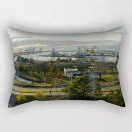 Ships at work Rectangular Pillow