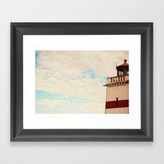 Find my light Framed Art Print