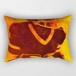 Heat of American Football Rectangular Pillow