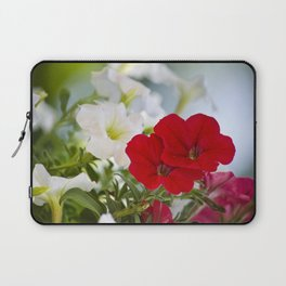 Antique Petunia Flowers Laptop Sleeve