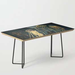 Metallic Jellyfish Coffee Table