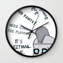 Geoff Peterson´s Catchphrases Wall Clock