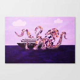 Media Monster Canvas Print