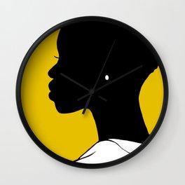 Pearl No. 1 - Yellow Wall Clock