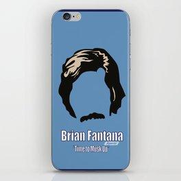 Brian Fantana: Reporter iPhone Skin