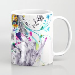 She is Flowers Coffee Mug